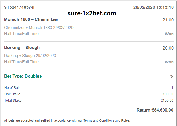 ht-ft weekend double safe bets